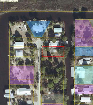 Waterfront lot with utilities Seller financing.SOLD